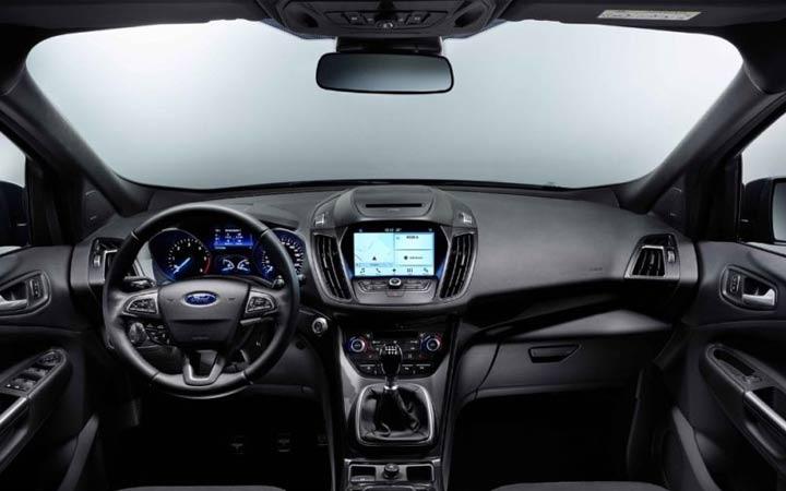 Интерьер Ford Kuga 2018-2019 года