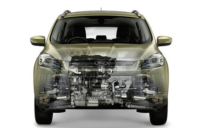 Новый Ford Kuga 2018-2019 года