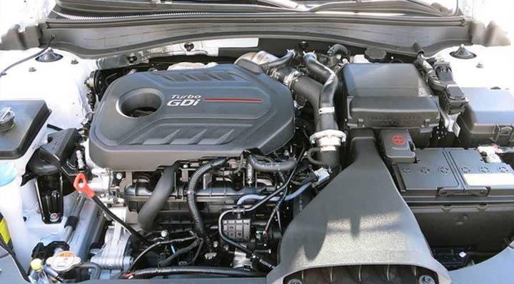 Двигатель Kia Optima 2019