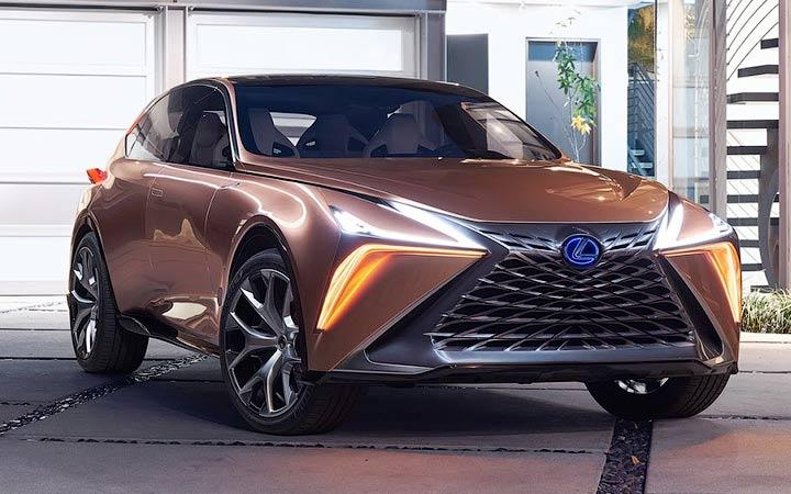 Lexus LF-1 2019 года