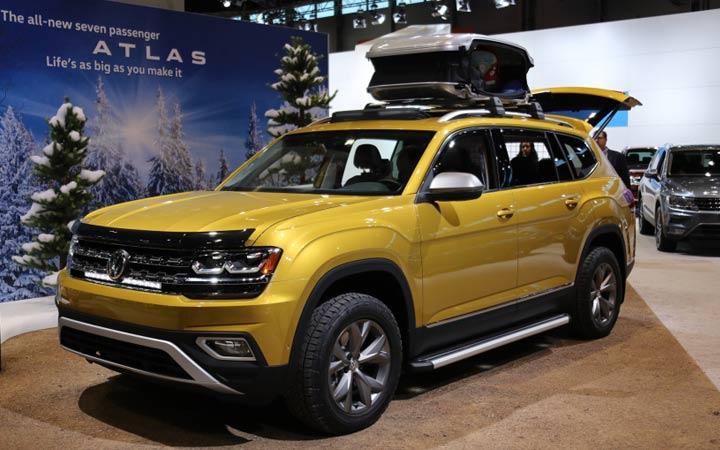 Volkswagen Atlas 2018-2019