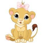 львенок девочка