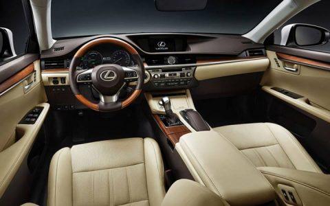 Lexus ES 2019 года, новый, цена, фото, характеристика