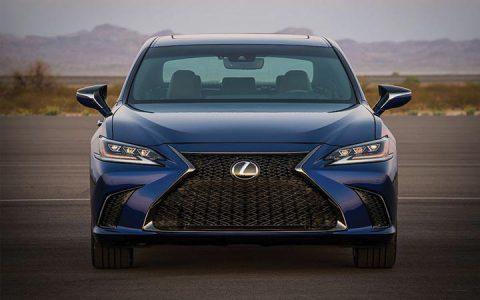 Экстерьер Lexus ES 2019