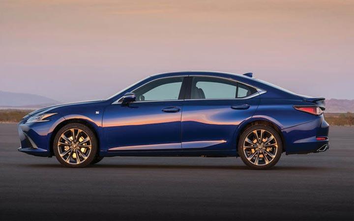Новый дизайн Lexus ES 2019