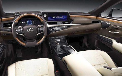 Интерьер Lexus ES 2019