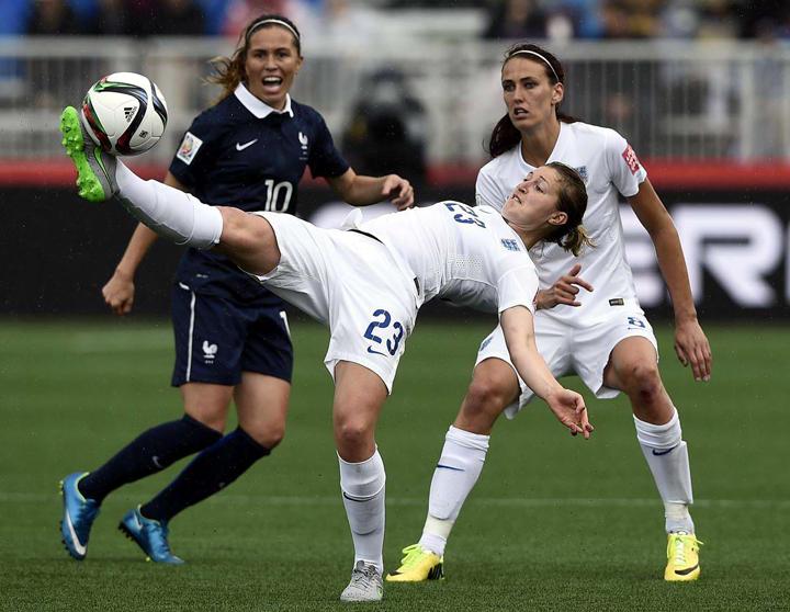 Матч Чемпионата мира по футболу среди женщин