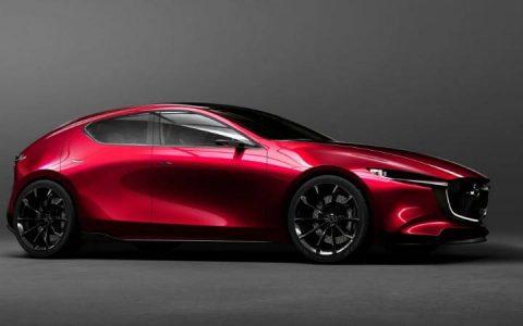 Экстерьер Mazda 3 2019