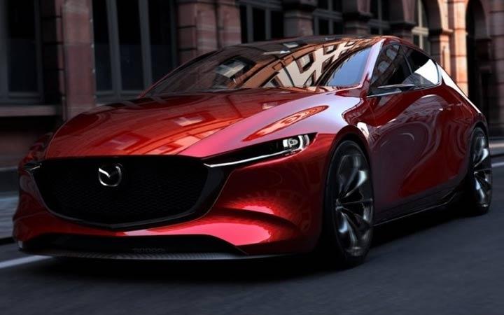 Новый дизайн Mazda 3 2019
