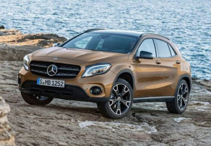 Головная оптика Mercedes-Benz GLA 2019