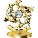 золотой знак зодиака рыбы