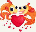 рыбы с сердцем