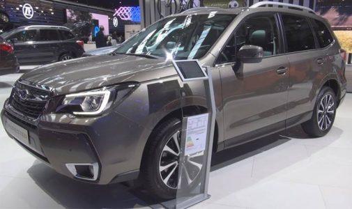 Экстерьер Subaru Forester 2019