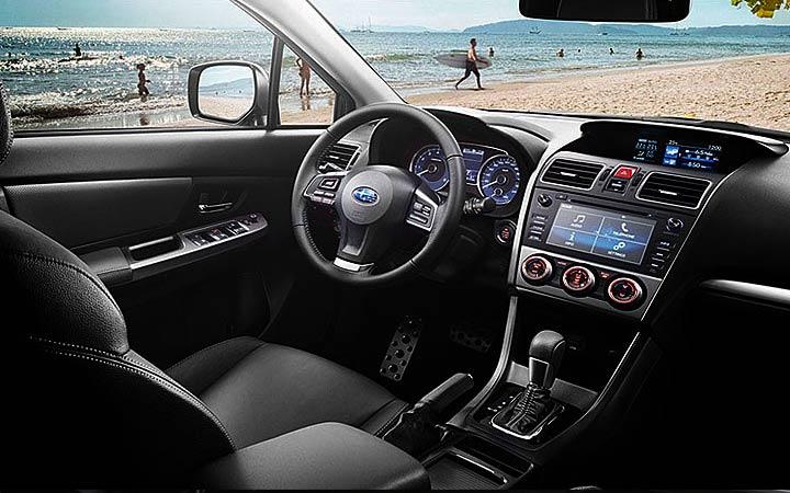 Интерьер Subaru Forester 2019