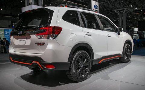 Нью-Йорк Subaru Forester Sport 2019 года