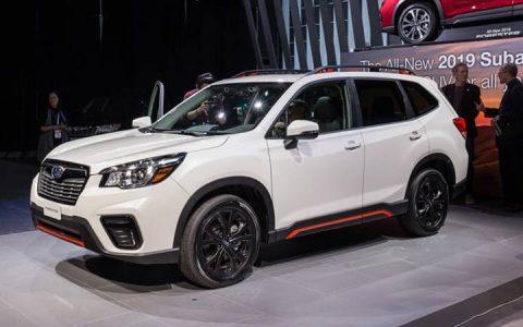 Subaru Forester Sport 2019 года
