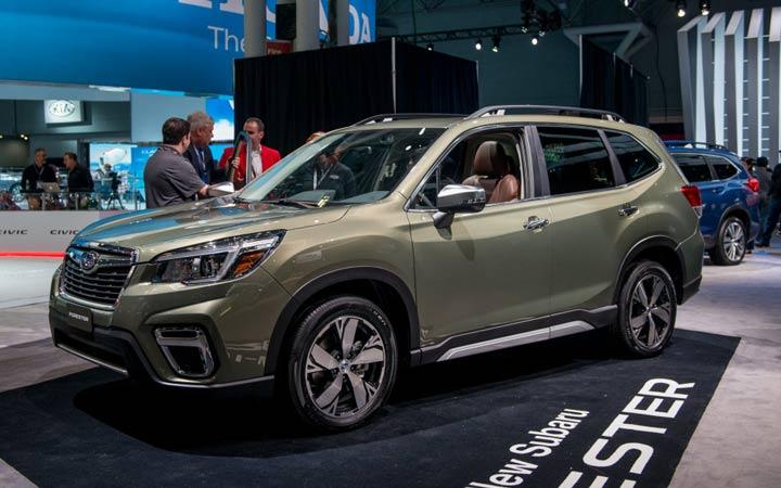 Новый Subaru Forester 2019 года