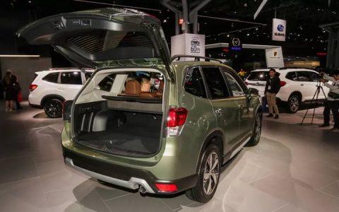 Презентация Subaru Forester 2019 года