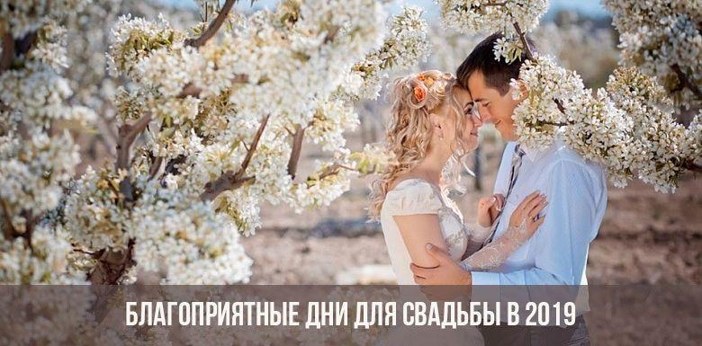 Благоприятные дни для свадьбы в ноябре 2019