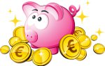 свинья с монетами