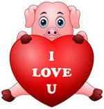 свинья с сердцем