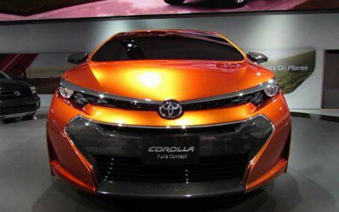Головная оптика новой Toyota Corolla 2019