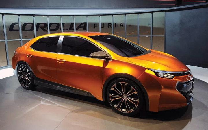 Концепт Toyota Corolla 2019