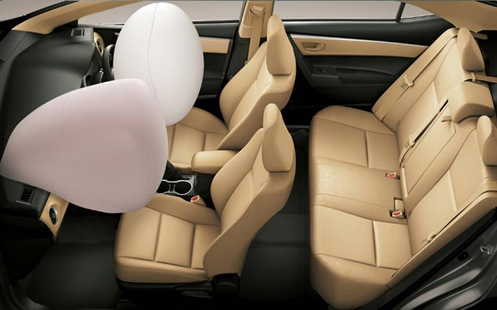 Системы безопасности Toyota Corolla 2019