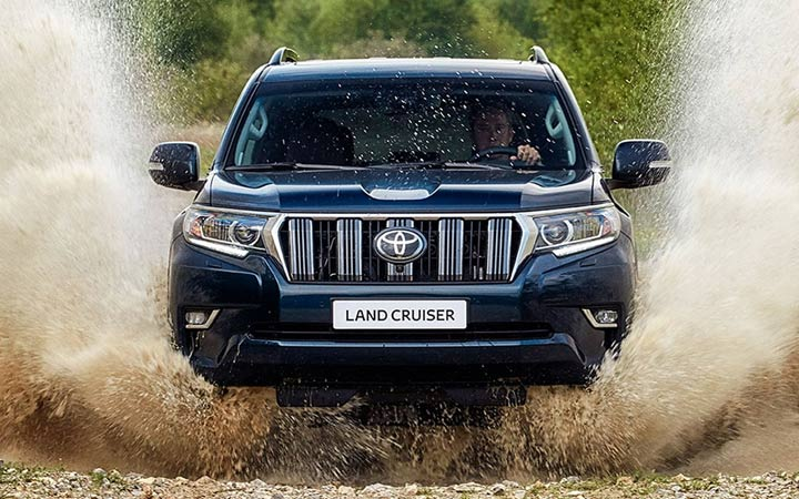Land Cruiser Prado 2019 года от Toyota