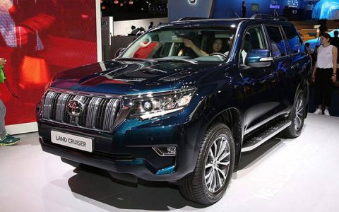 Экстерьер Toyota Land Cruiser Prado 2019