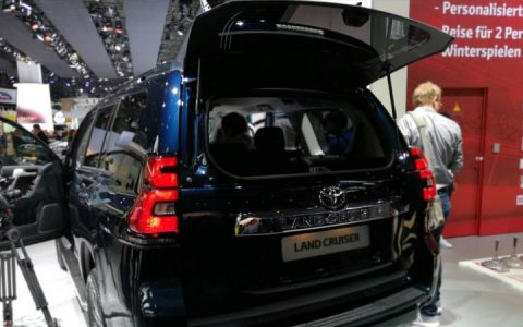 Дверь багажника Toyota Land Cruiser Prado 2019