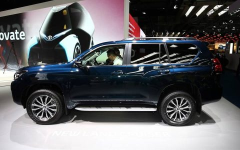 Презентация Toyota Land Cruiser Prado 2019