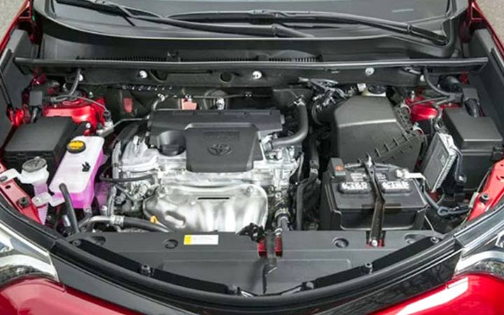 Мотор Toyota RAV4 2019