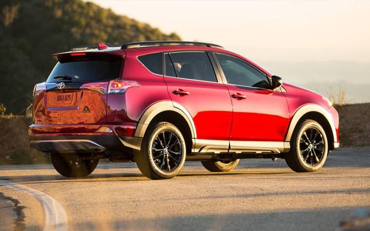 Комплектация Toyota RAV4 2019