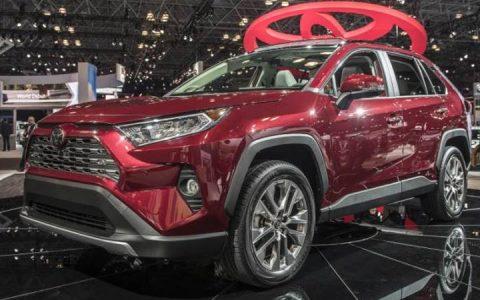 Презентация в Нью-Йорке Toyota RAV4 2019 года