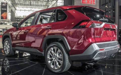 Toyota RAV4 2019 года Нью-Йорк автошоу