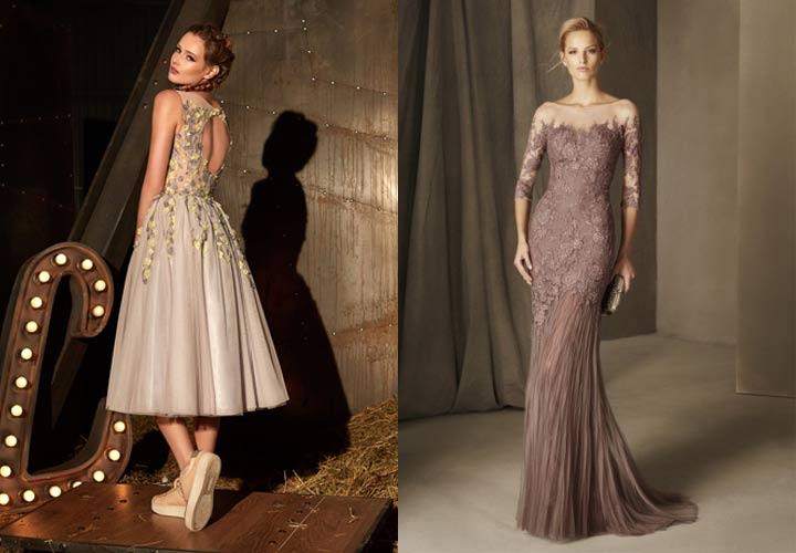 Кремовое платье не Новый 2019 год