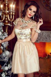 Коктейльное платье на Новый Год 2019