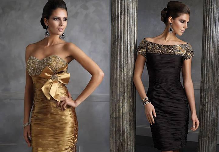 Новогоднее платье в стиле Шанель