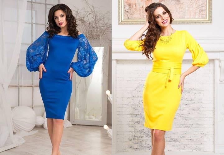 Яркие и модные платья на Новый Год