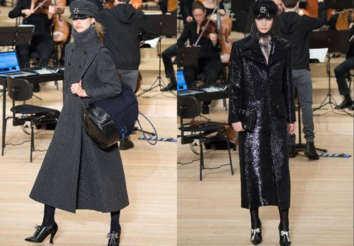 Стильные пальто от Шанель