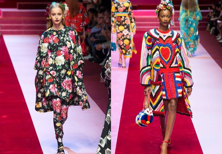 Модные пальто от Dolce & Gabbana 2018-2019