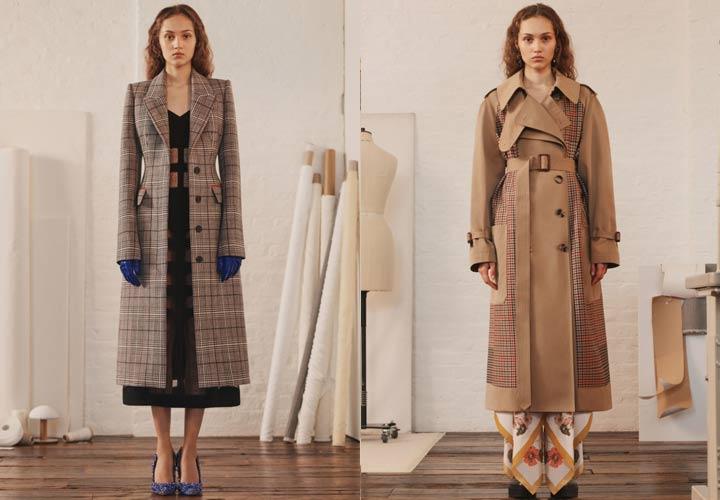 Элегантные демисезонные пальто Alexander McQueen