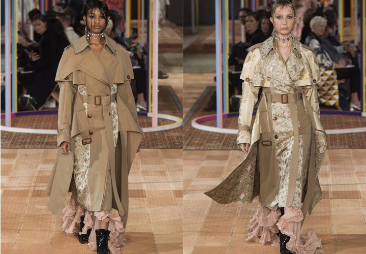 Женские демисезонные пальто 2018-2019 от McQueen