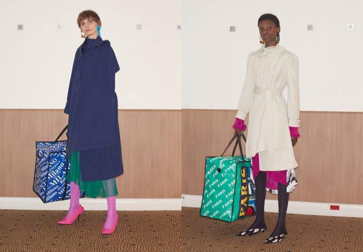 Модные пальто от Balenciaga