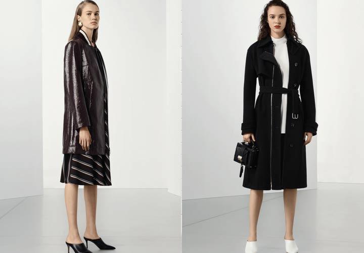 Пальто 2018 года коллекция Hugo Boss