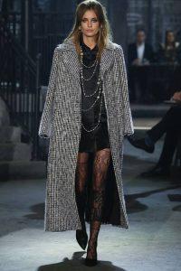 Длинное пальто мода 2019 года