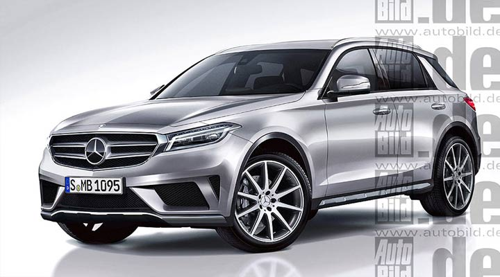 Exterior Mercedes GLE 2019