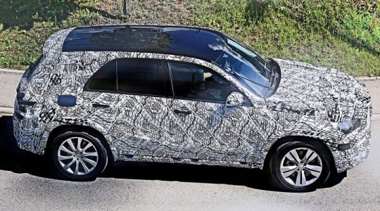 first photos of Mercedes GLE 2019