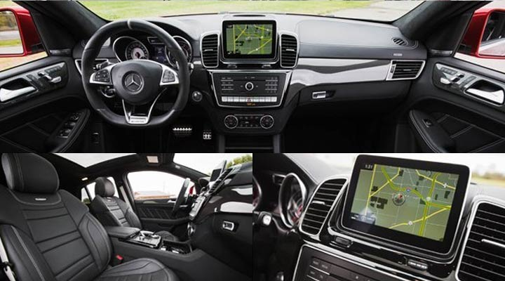 Интерьер Mercedes GLE 2019